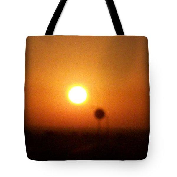 Texas Sunrise Tote Bag by Adam Cornelison