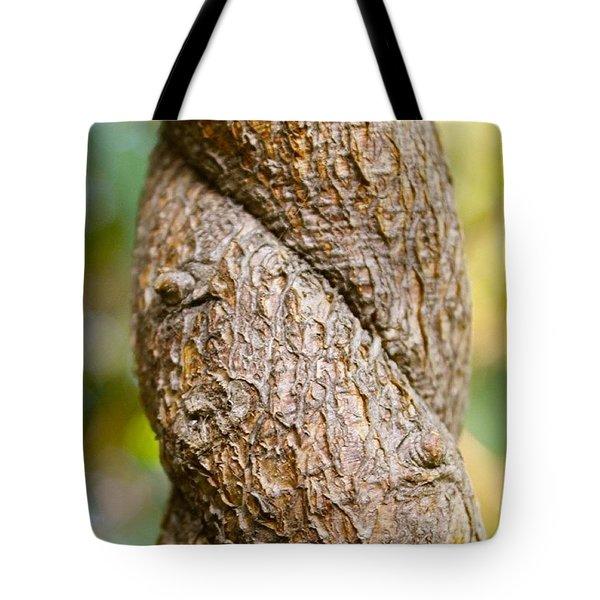 Tree Texture Tote Bag