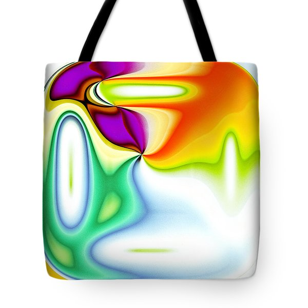Textured Abstract Tote Bag by Tom Gowanlock