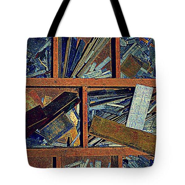 textures III Tote Bag