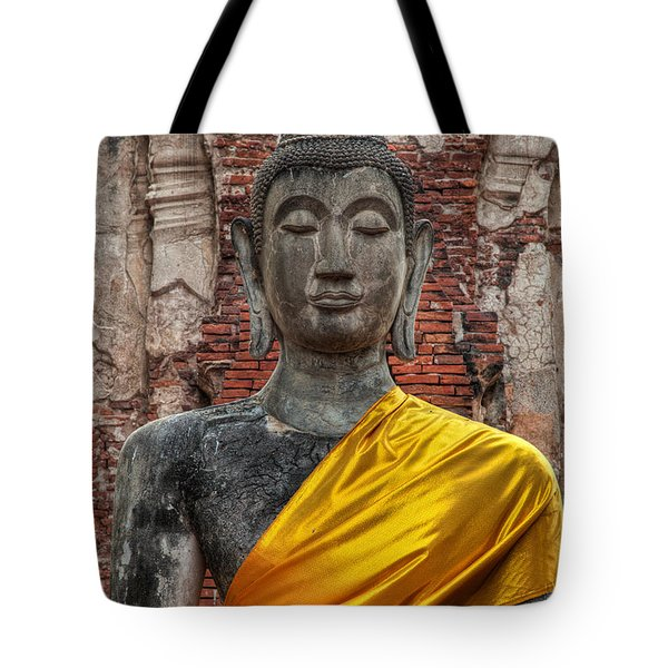 Tote Bag featuring the photograph Thai Buddha by Adrian Evans