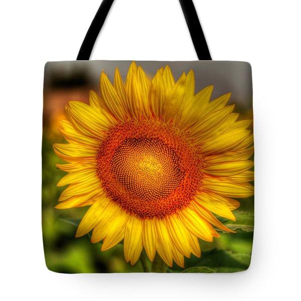 Thai Sunflower Tote Bag by Adrian Evans