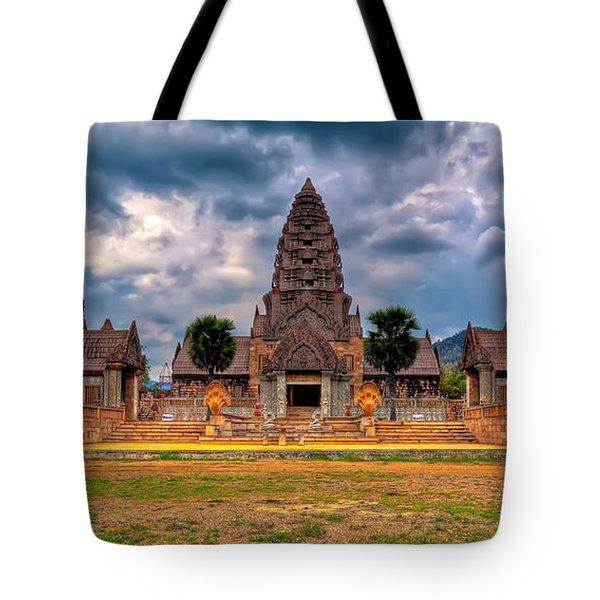 Thai Temple Tote Bag by Adrian Evans