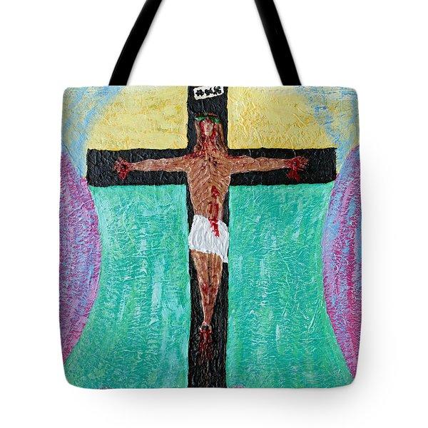 Thank God For Good Friday Nineteen Ninety Nine Tote Bag by Carl Deaville