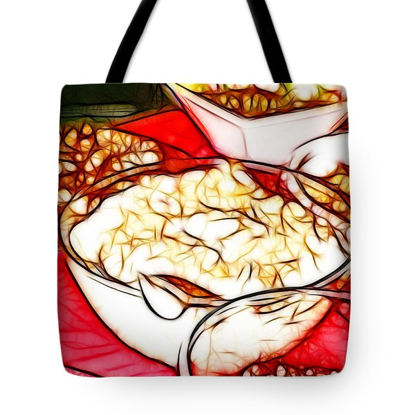Thankful For Mamas Cooking Tote Bag