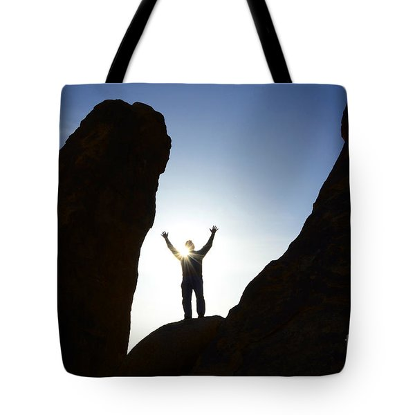 Thanks For Today Hope For Tomorrow Tote Bag by Bob Christopher