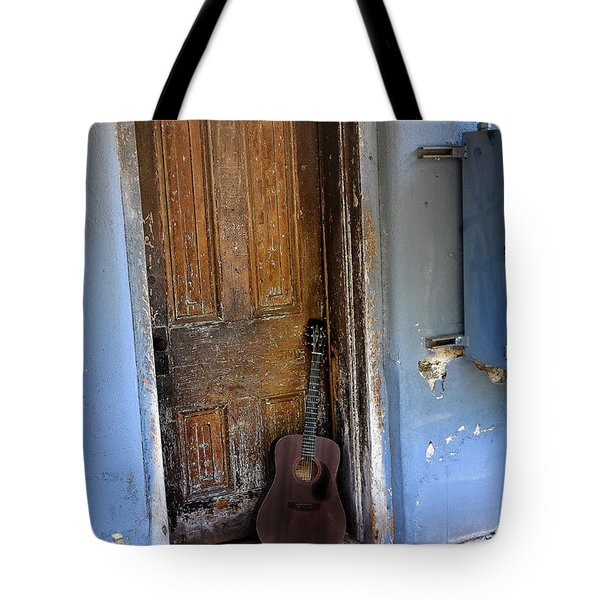 That Old Guitar Tote Bag by Bill Cannon