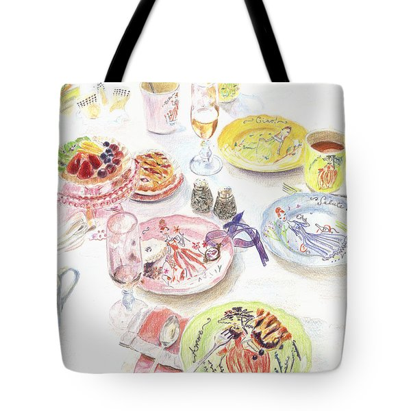 Thats Amore Tote Bag by Beth Saffer