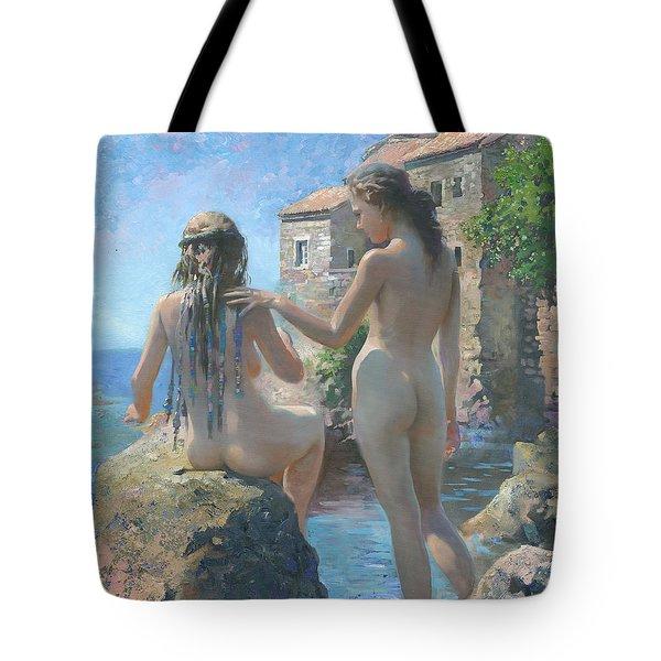 The Adriatic Sea Mmxi Tote Bag