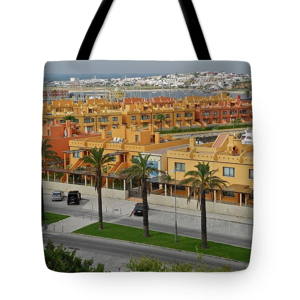 Tote Bag featuring the photograph The Algarve In Portugal by Kirsten Giving