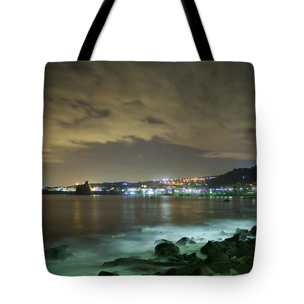 The Alien Night Of Acitrezza Tote Bag