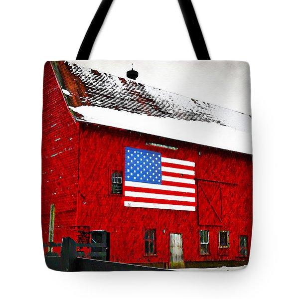 The American Dream Tote Bag by Bill Cannon