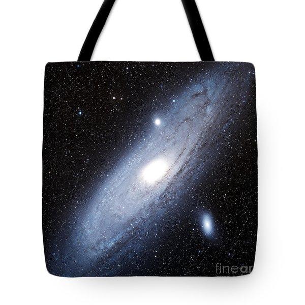 The Andromeda Galaxy Tote Bag by Charles Shahar