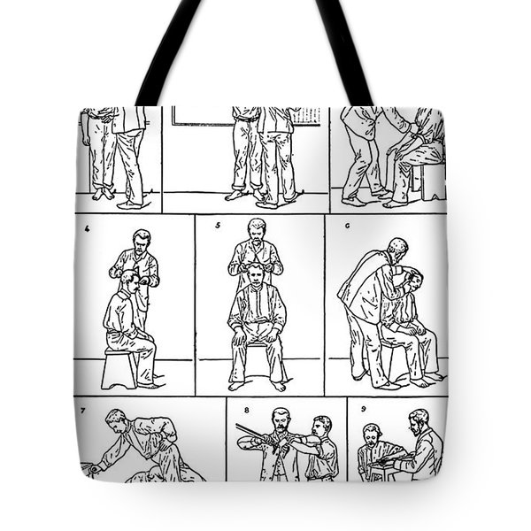 The Anthropometrical Signalment, 1896 Tote Bag by Science Source