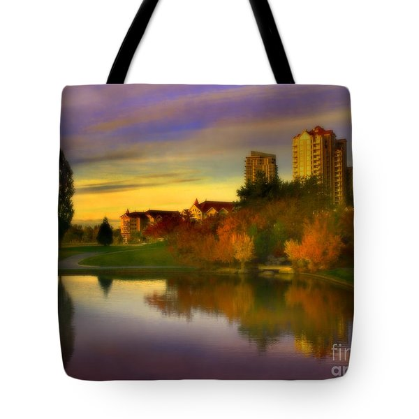 The Arrival Of Autumn Tote Bag by Tara Turner