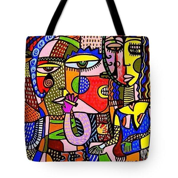 The Art Of Flirting Tote Bag