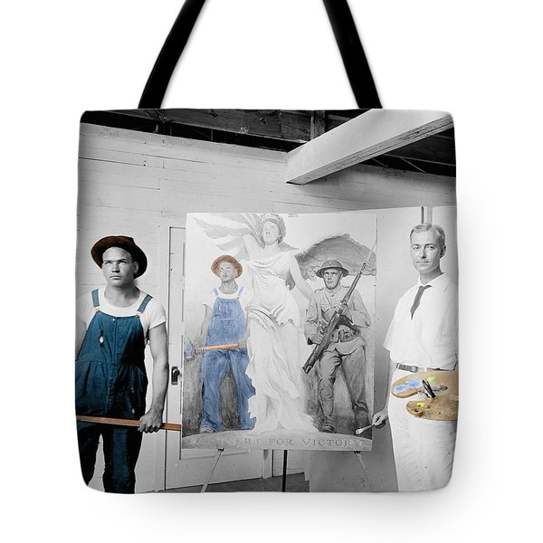 The Artist Tote Bag by Andrew Fare