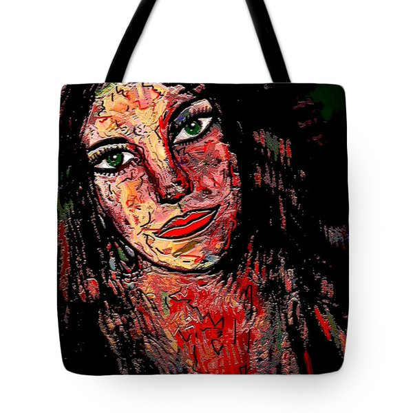 The Artist Tote Bag by Natalie Holland