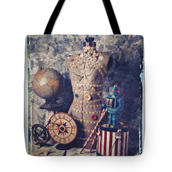 The Attic Tote Bag by Garry Gay