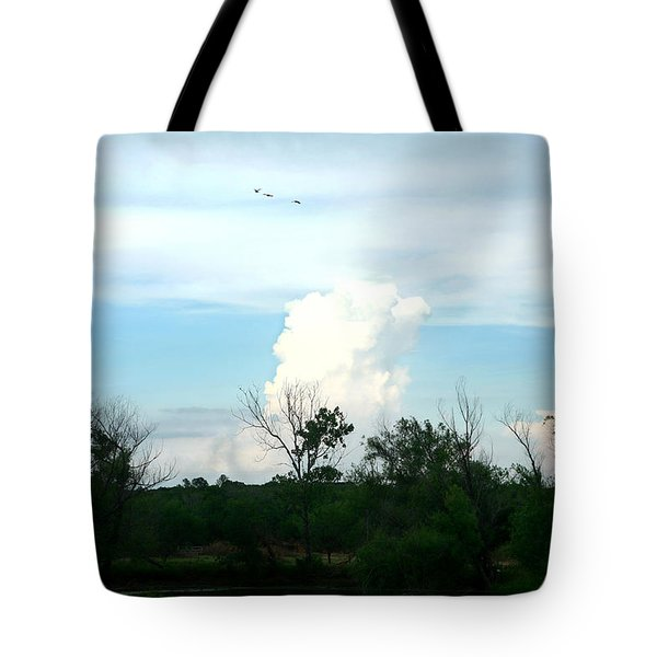 Tote Bag featuring the photograph The Back Forty by Lon Casler Bixby