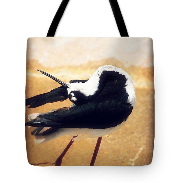 The Ballerina Bird Tote Bag by Peggy Franz