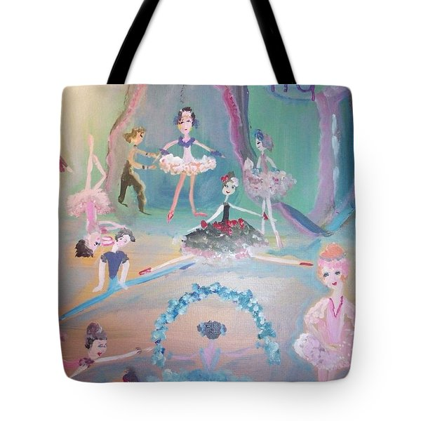 The Ballet Contest Tote Bag by Judith Desrosiers