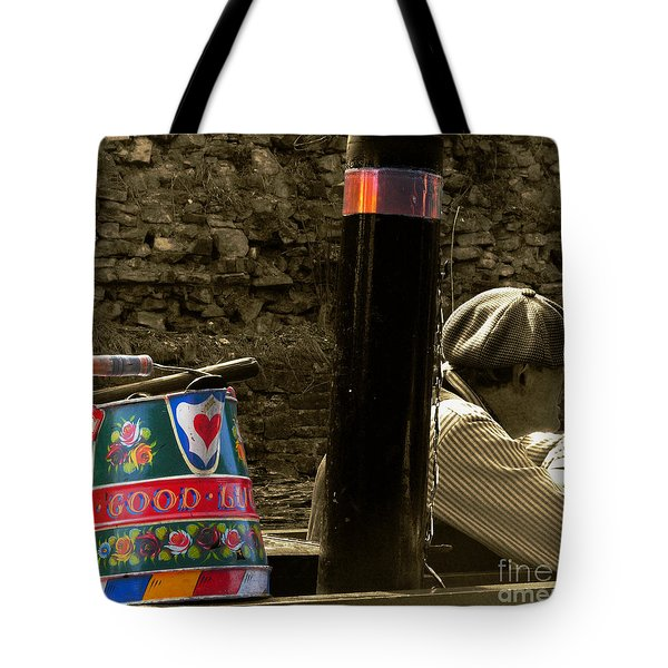 The Bargee Tote Bag by Rob Hawkins