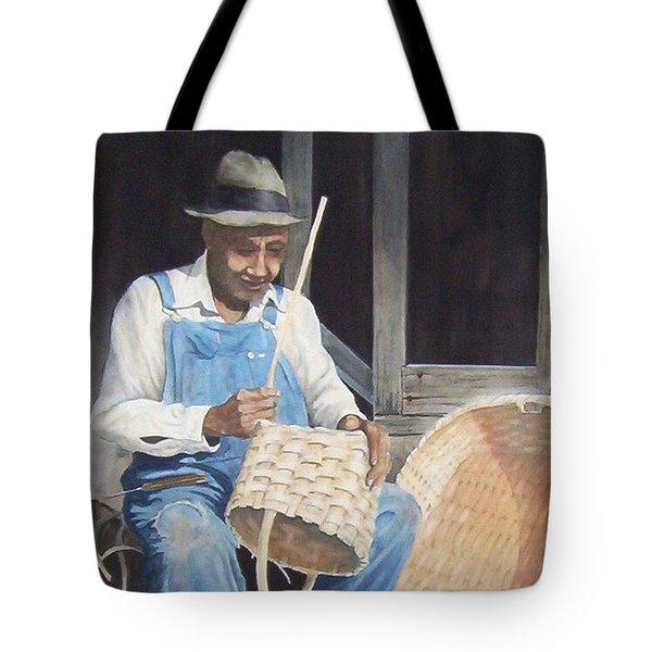 The Basket Maker ...sold  Tote Bag