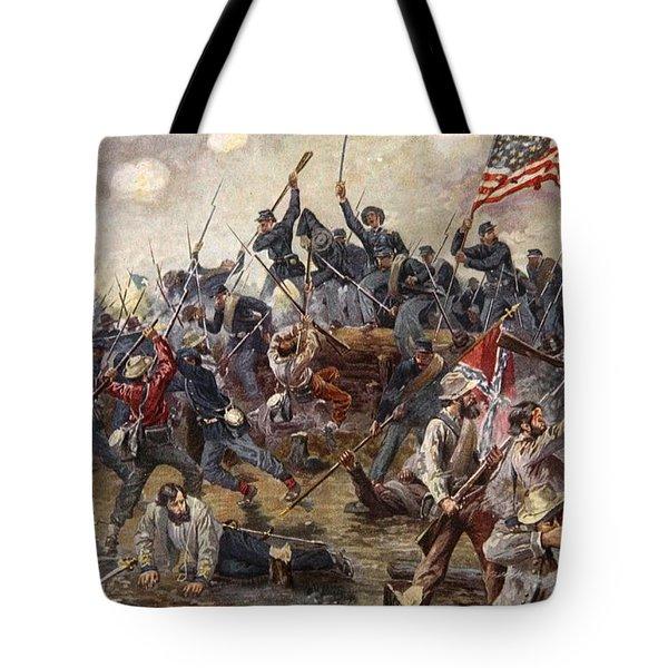 The Battle Of Spotsylvania Tote Bag