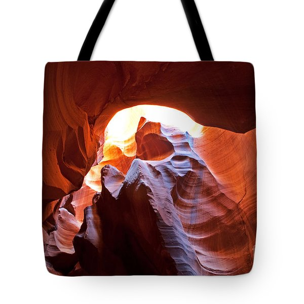 Tote Bag featuring the photograph The Bear by Bob and Nancy Kendrick