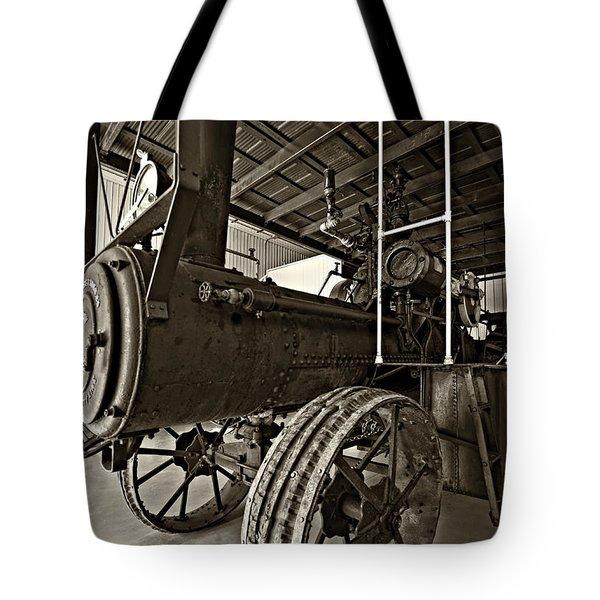 The Beast Sepia Tote Bag by Steve Harrington