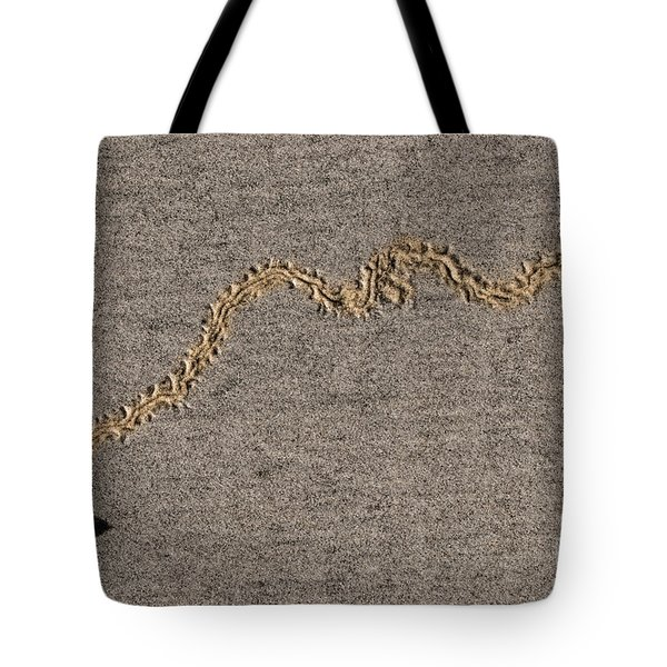 Tote Bag featuring the photograph The Bee-line by Sonny Marcyan