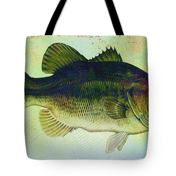The Big Fish Tote Bag by Bill Cannon