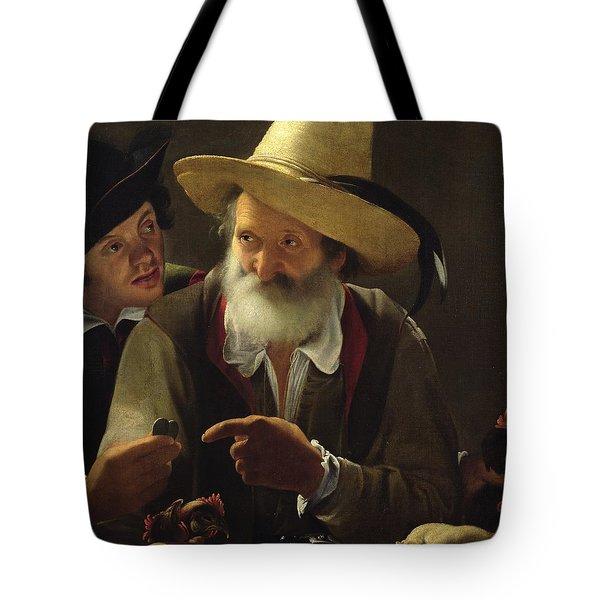 The Bird Seller Tote Bag by Pensionante de Saraceni
