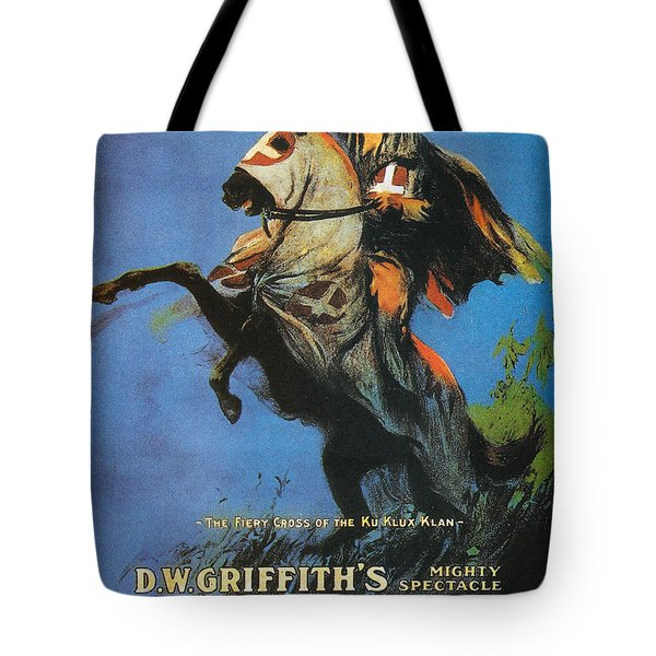 The Birth Of A Nation Tote Bag by Georgia Fowler