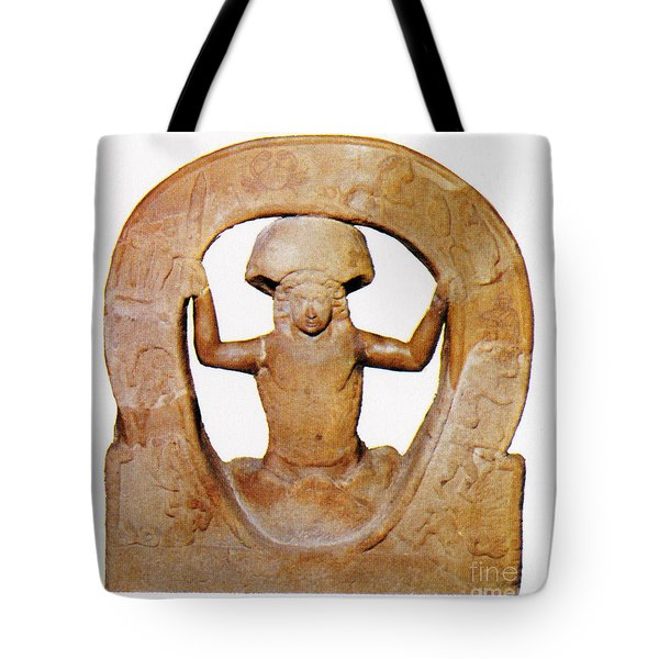 The Birth Of Mithras, Greek God Tote Bag by Photo Researchers