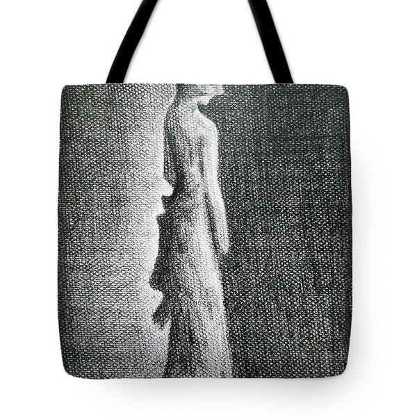 The Black Bow Tote Bag