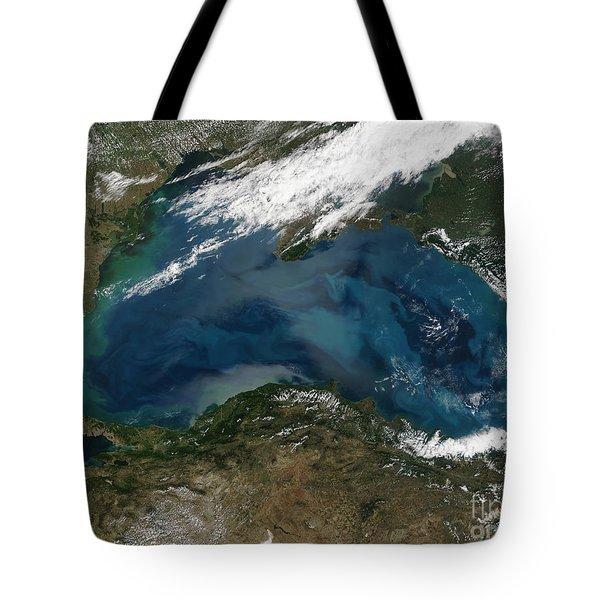 The Black Sea In Eastern Russia Tote Bag by Stocktrek Images