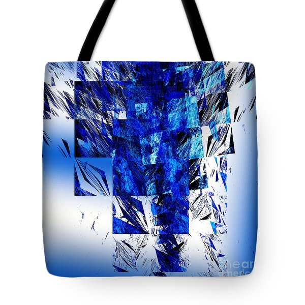 The Blue Chandelier Tote Bag by Andee Design