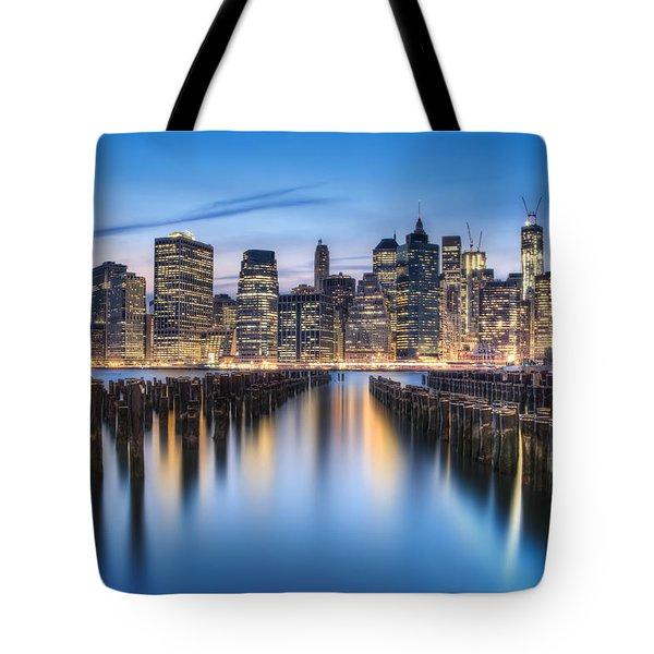 The Blue Hour Tote Bag by Evelina Kremsdorf