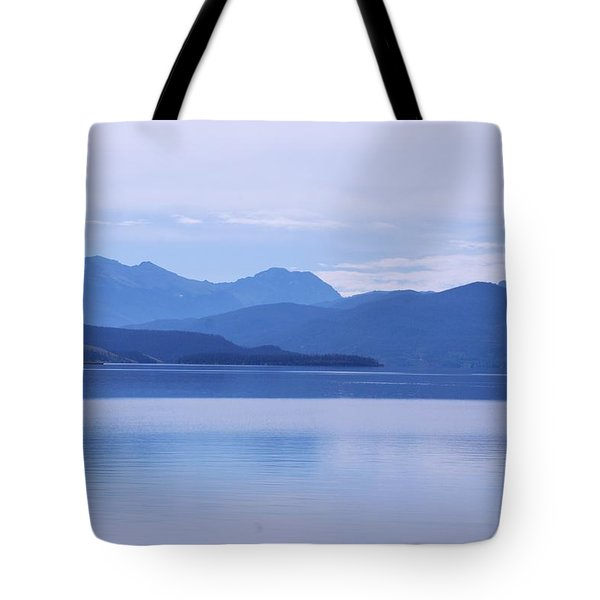The Blue Shore Tote Bag by Dany Lison