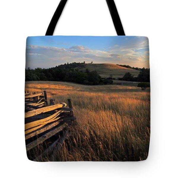 The Bluffs At Doughton Park Blue Ridge Parkway Tote Bag by John Harmon