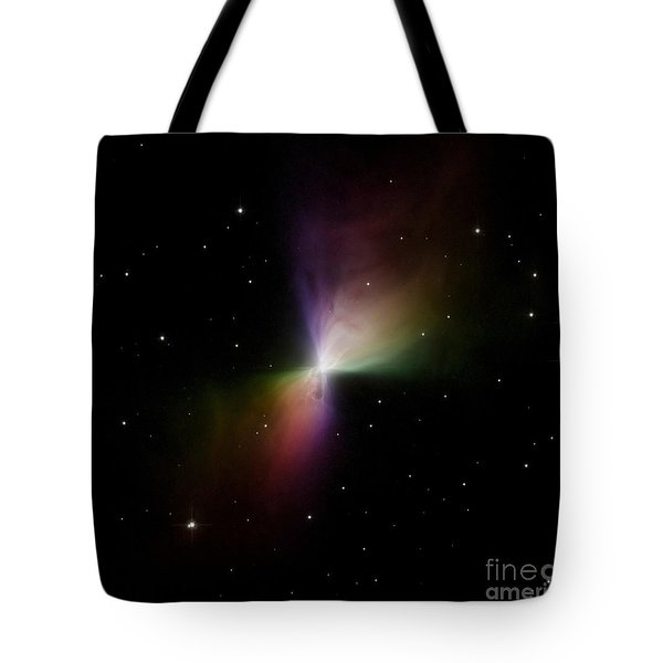 The Boomerang Nebula Tote Bag by Stocktrek Images