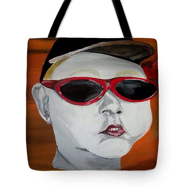 The Boy Tote Bag by Mark Moore