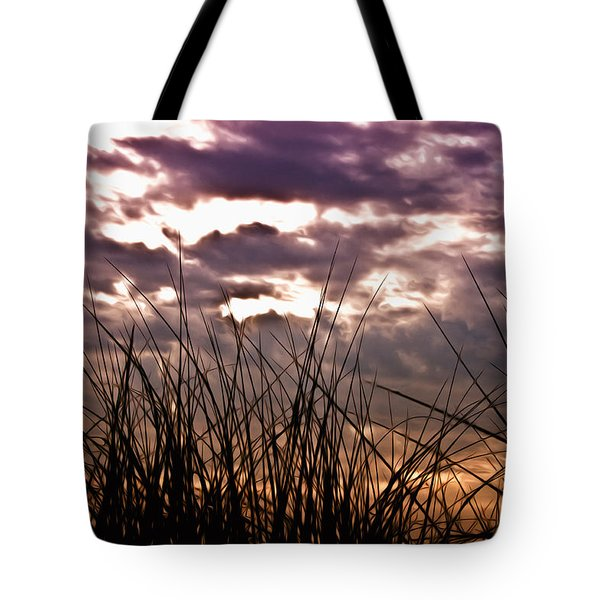 The Brewing Storm Tote Bag by Bill Cannon