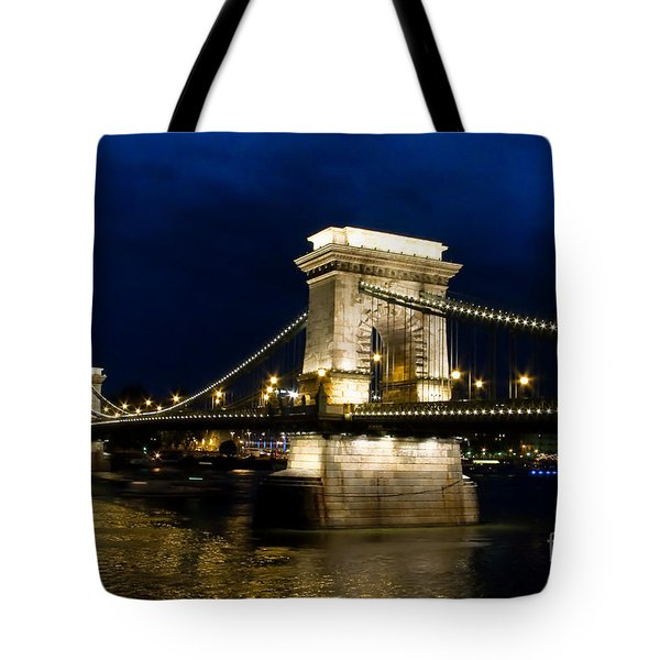 The Bridge Across Tote Bag by Syed Aqueel