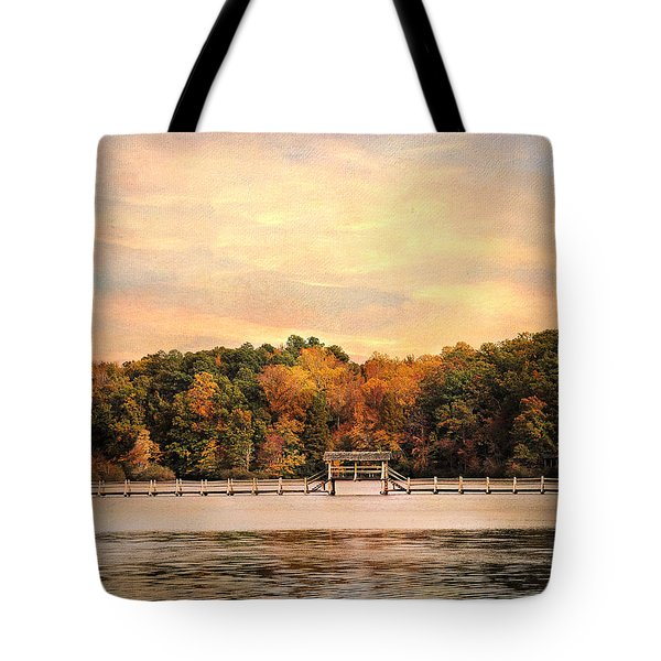 The Bridge Tote Bag by Jai Johnson
