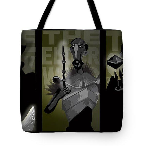 The Brothers Tote Bag by Lisa Leeman