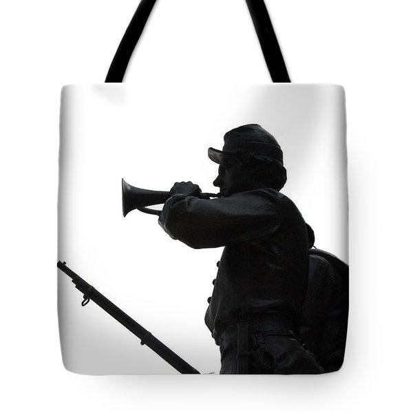 The Bugler Tote Bag by Cindy Manero