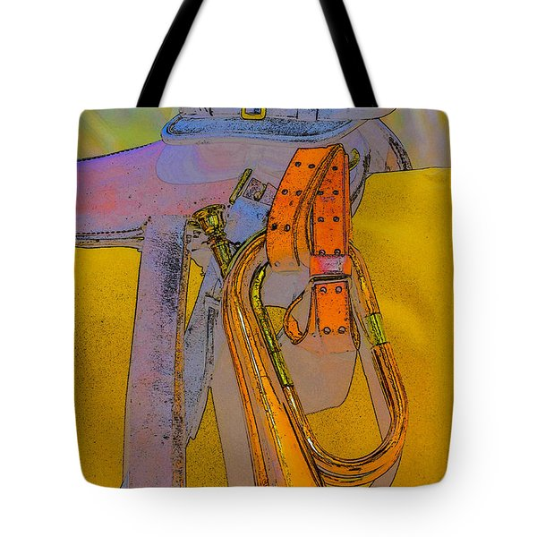 The Bugler Tote Bag by Marta Cavazos-Hernandez